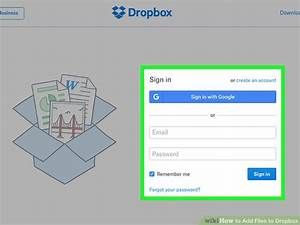 3 easy ways to add files to dropbox with pictures With upload documents to dropbox