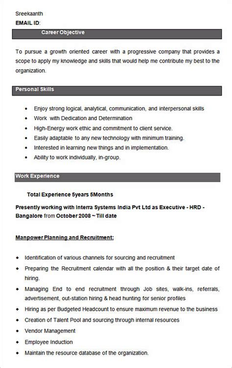 ultimate guide  writing  human resources resume