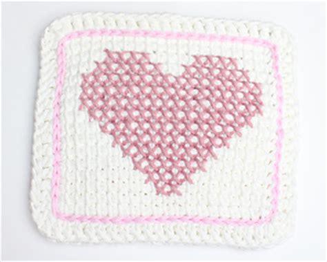 ravelry cross stitch tunisian potholder pattern  briana olsen