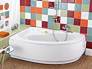Baignoire D Angle Asymétrique : baignoire d 39 angle allia pepita atout kro ~ Premium-room.com Idées de Décoration