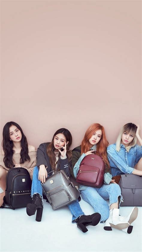 Select a beautiful wallpaper and click the yellow download button below the image. K-POP Blackpink iPhone X Wallpaper HD | Blackpink, Wallpaper, 1080p