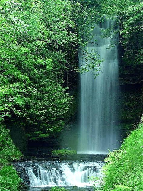 Filewaterfalls Wallpaperjpg  Wikimedia Commons