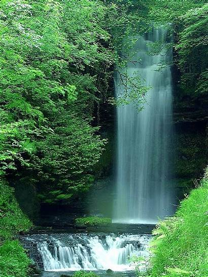 Waterfalls Waterfall Nature Domain Landscapes Therapy Resistance