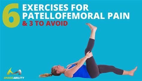 exercises  stretches  patellofemoral pain syndrome