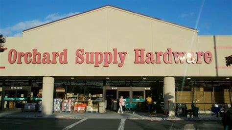 Osh Home And Garden by Orchard Supply Hardware Hardware Stores Foster City