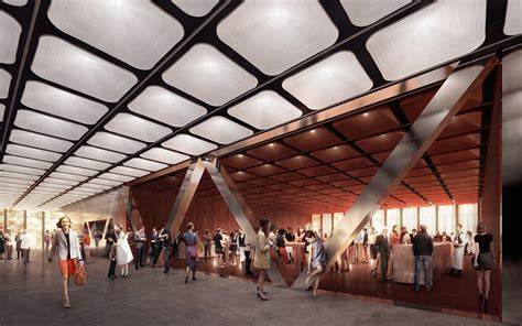 cuisine center design unveiled for ronald o perelman performing arts
