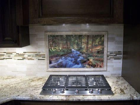 mural tiles for kitchen backsplash kitchen backsplash tile mural pictures kitchen