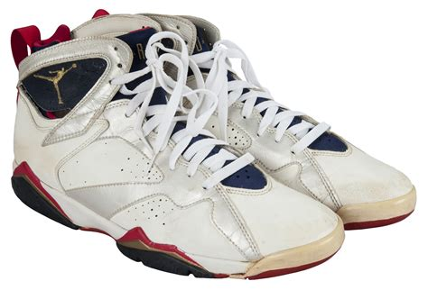 michael jordans  dream team sneakers   auction