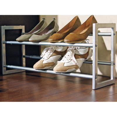Tiroir Chaussures Coulissant Etagre Chaussures Porte Chaussures Extensible Pratik Castorama