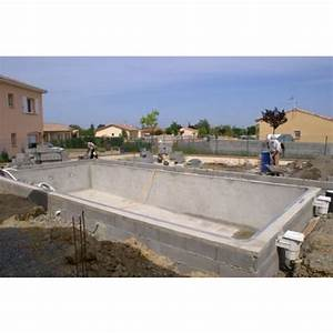 comment construire sa piscine les differentes etapes With construire une piscine en beton soi meme