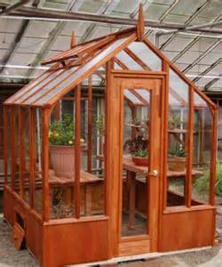 Wood Greenhouse Kits