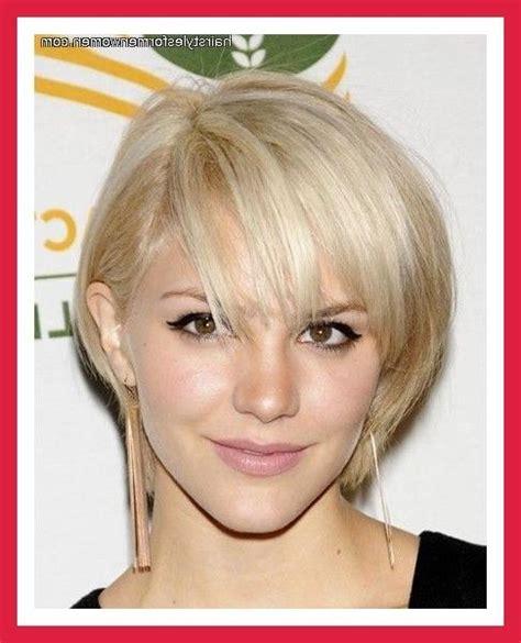 latest short haircuts  fine hair oval face
