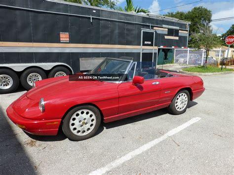 1994 Alfa Romeo Spider Veloce Convertible Commemorative