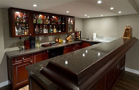 Portable Bars For Basements by Finished Basement Bars Pubs Wine Cellars Basement