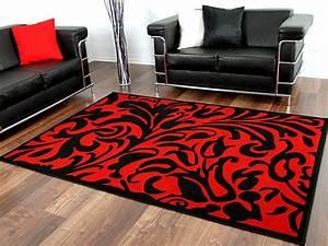 Teppich Rot Schwarz : designer teppich passion schwarz rot barock teppiche ~ Pilothousefishingboats.com Haus und Dekorationen