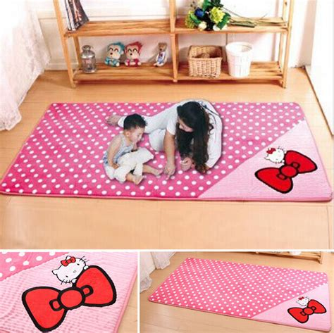 Hello Rugs For Bedrooms by Pink Bow Hello Non Slip Room Bedroom Area Rug