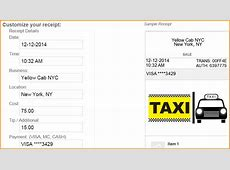 8+ taxi receipt generator Invoice Template Download