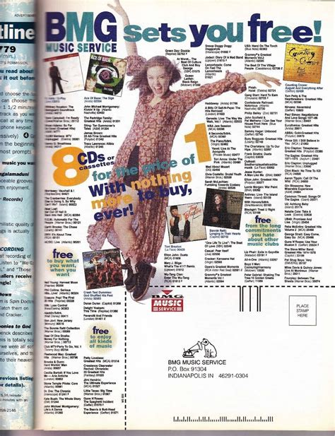 Bmg Cd Club by Bmg Club Lord Was There Anyone Back In The Day Who