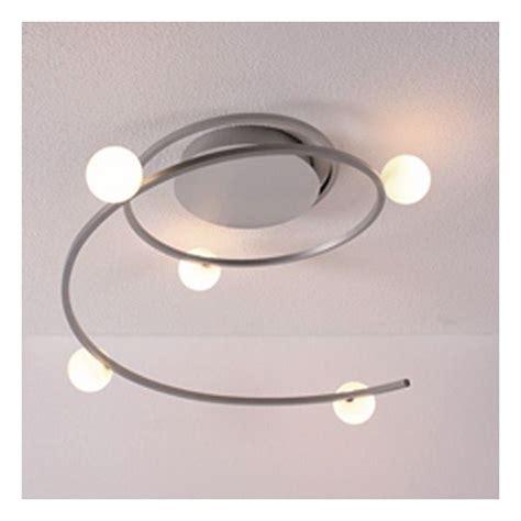luminaire chambre design plafonnier design led narcisse millumine