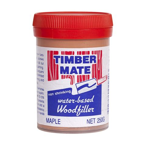 maple wood putty timbermate 250g maple wood filler bunnings warehouse