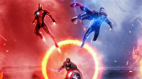 avengers endgame trinity  hd superheroes  wallpapers