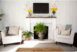 Ways To Decorate A Living Room by 10 Ways To Decorate Your Fireplace In The Summer Since You Won 39 T Need It
