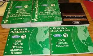 2008 Ford Escape Mariner Hybrid Shop Service Manual Vol 1