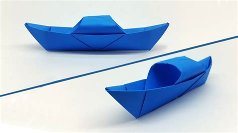 How To Make A Paper Boat Easy Youtube by How To Make A Paper Boat Easy For Kids Origami Boat