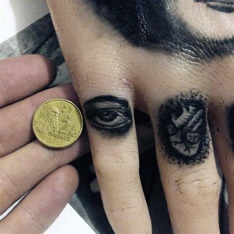 75 Finger Tattoos For Men - Manly Design Ideas