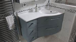 meuble d39angle bora bora avec tiroirs atlantic bain With meuble en coin salle de bain