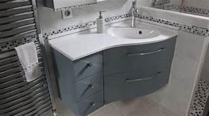 Meuble Tiroir Salle De Bain : meuble d 39 angle bora bora avec tiroirs atlantic bain ~ Edinachiropracticcenter.com Idées de Décoration