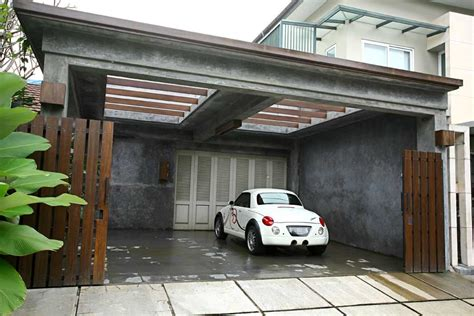 gambar garasi rumah minimalis  rumah jos