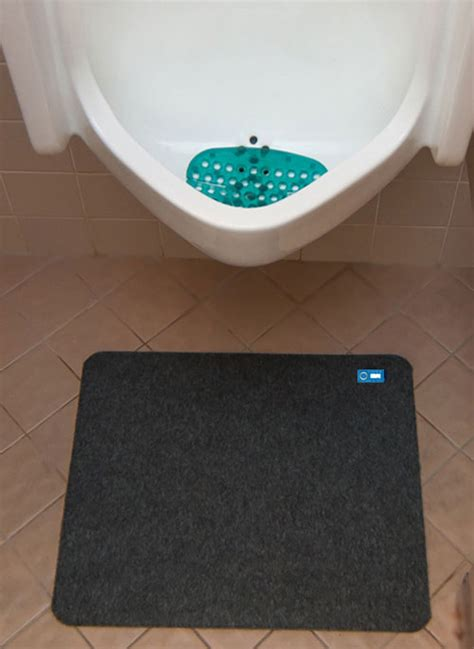 Toilet Floor Mats by Disposable Antimicrobial Mat Hygomat