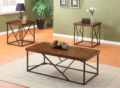 Brown Cherry Finish Modern 3pc Coffee Table Set W/metal Base Health Benefits Of Coffee With Coconut Oil Robusta Jimm's Vienna House Freud From Beans Regular And End Tables At Ikea Weight Loss