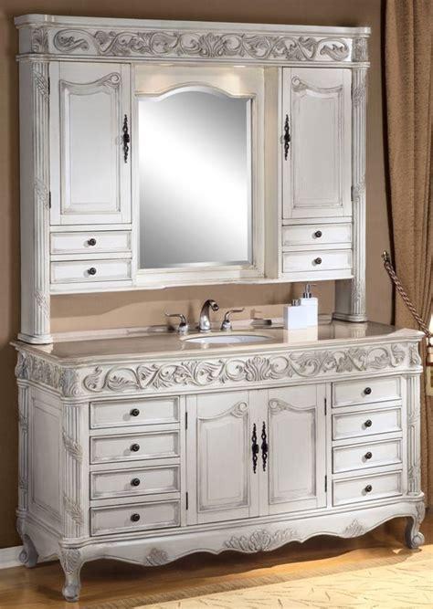 Ivory Bathroom Vanity by Antique Bathroom Vanities Made From Hutches Vanity