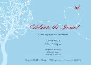 Christmas Bridal Shower Invitations by Holiday Party Invitations Ideas Invitations Ideas