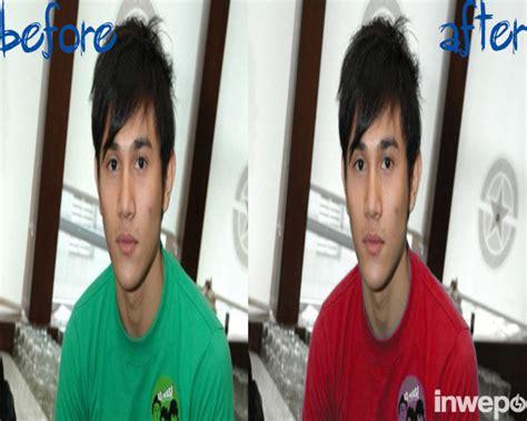 mengganti warna objek baju  foto  photoshop