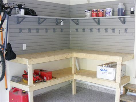 diy overhead garage storage shelves