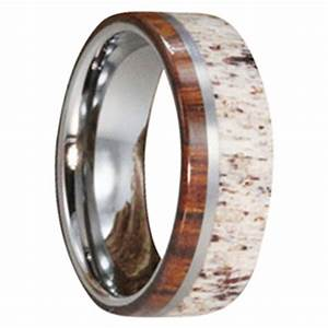 mens antler wedding bands mens wedding bands With deer antler mens wedding rings