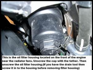 I Have The Items To Change The Oil In My Passat  Where Is The Location Of The Oil Filter Housing