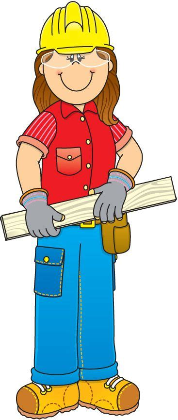 Community Helpers Clipart Community Helpers Clipart Construction Worker Clipart