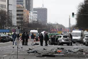 Bomb In Berlin by Terror In Berlin As Driver Dies After Explosive Device