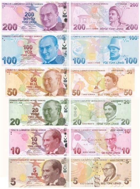 bureau de poste 2 la monnaie turque la livre turque ou türk lira cours et