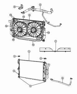 Chrysler Sebring Isolator  Radiator  Lower