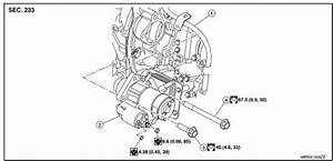 Nissan Rogue Service Manual  Removal And Installation