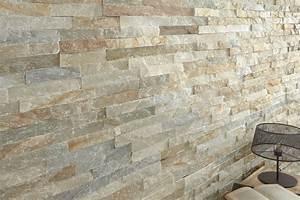 Plaquette De Parement Interieur Pas Cher : plaquette de parement slim stone beige bricoman ~ Dailycaller-alerts.com Idées de Décoration