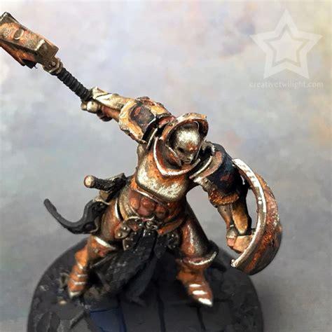 rust effect miniatures paint close tutorial realistic textured ups talking few better general