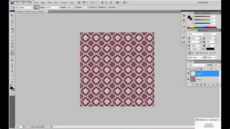how to change the color of a pattern in photoshop