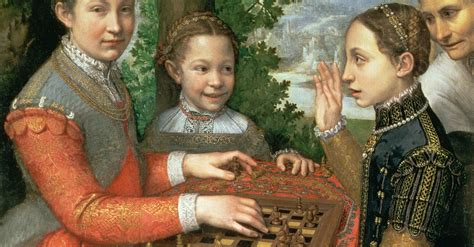 youth sisters playing chess laphams quarterly