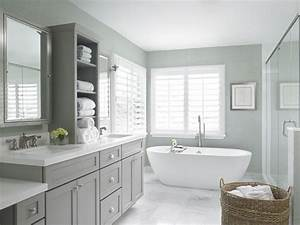 White and gray bathroom decor walk in shower showers